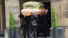 Pohřeb Ladislava Potměšila na pražských Vinohradech