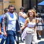 *PREMIUM-EXCLUSIVE* *WEB EMBARGO UNTIL 10:45AM PDT ON 7/4/21** J.Lo and Ben Affleck take their kids and their love to Universal Studios Hollywood!
