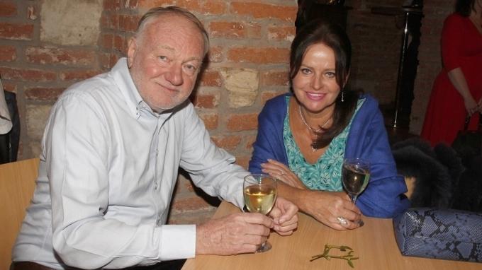 Manželé Luděk a Adriana Sobotovi
