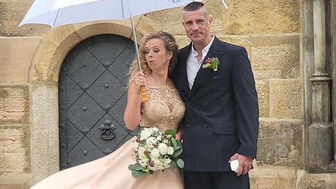 Robert Rosenberg a jeho manželka Petra.