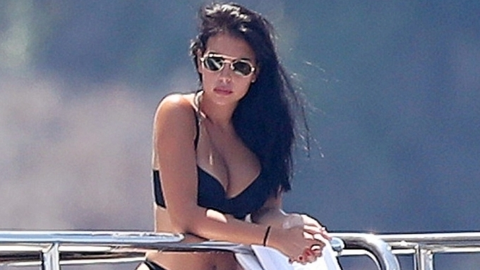 Krásná modelka Georgina Rodríguezová