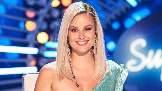 Patricie Pagáčová jako porotkyně hudební show
