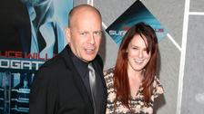 Herec Bruce Willis s dcerou Rumer