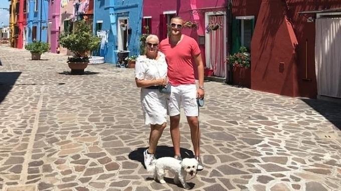 Monika Binias a její manžel Petr