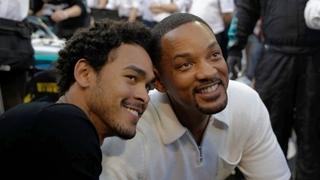 Herec Will Smith se synem Treyem