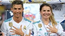 Cristiano Ronaldo se svou sestrou Katiou Aveirovou