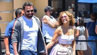 Zamilovaný pár Jennifer Lopezová a Ben Affleck