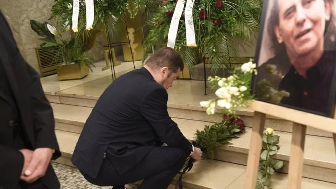 Poslední rozloučení s bubeníkem a zpěvákem Vítězslavem Vávrou