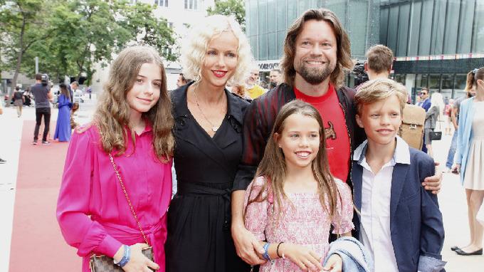 Richard Krajčo s rodinou
