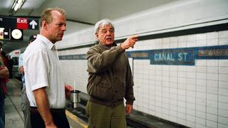 Režisér Richard Donner s hercem Brucem Willisem