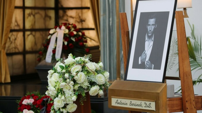 Pohřeb Antonína Beránka
