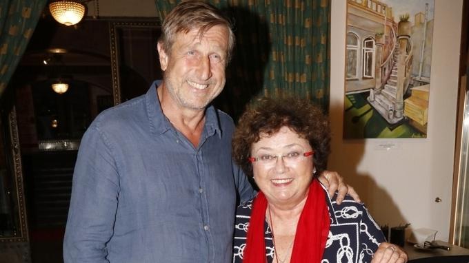 Herci Václav Vydra a Jana Boušková