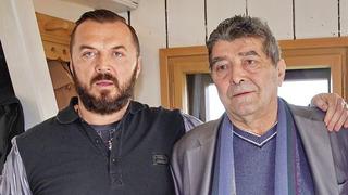 Jan Kočka se svým otcem Václavem