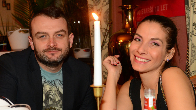 Herečka Eva Decastelo a její manžel René