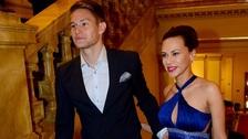 Tomáš Vaclík s manželkou Martinou