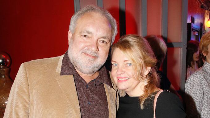 Herec Václav Svoboda s manželkou