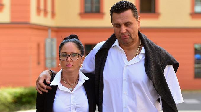 Marie Růžičková s manželem