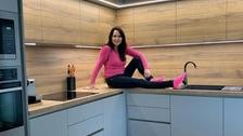 Zpěvačka Heidi Janků v nové kuchyni