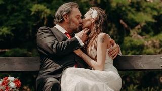 Novomanželé Radek a Markéta Johnovi