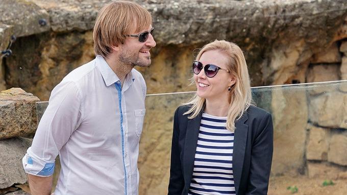 Ministr Adam Vojtěch s manželkou Olgou