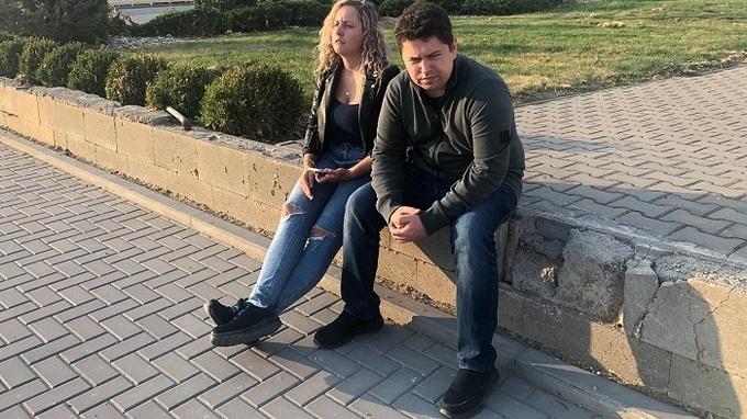 Andrej Babiš mladší s kamarádkou Petrou