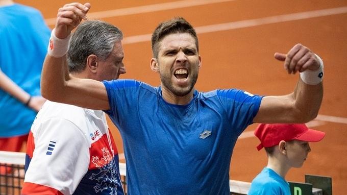 Tenista Jiří Veselý
