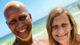 Cheryl McGregorová a její snoubenec Quran McCain