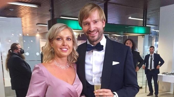 Manželé Vojtěchovi na zahájení 55. ročníku MFF  v Karlových Varech