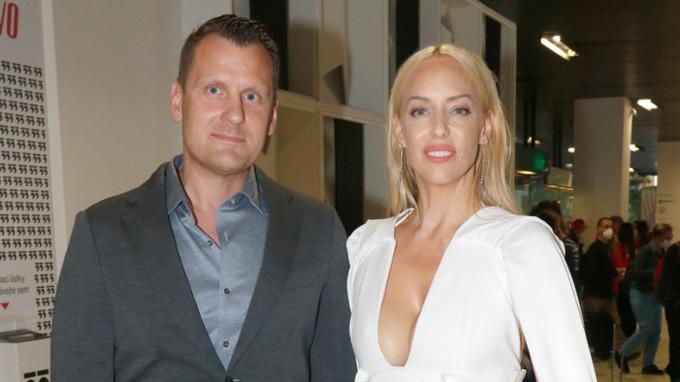 Zpěvačka Kateřina Mátlová s přítelem Michalem Kovářem