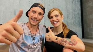 Miloš Kadeřábek a Gabriela Koukalová