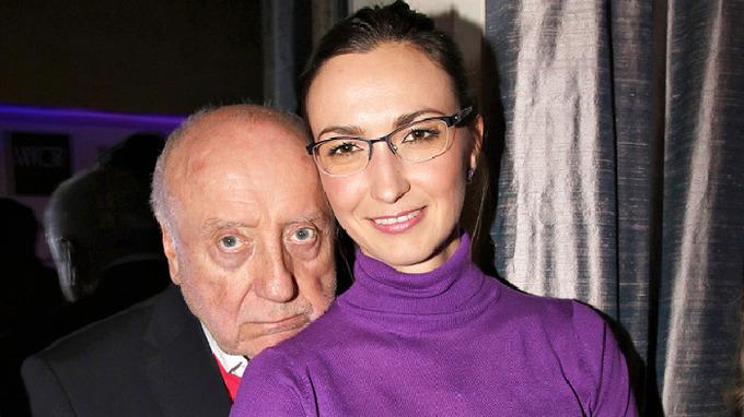 Felis Slováček s Lucií Gelemovou