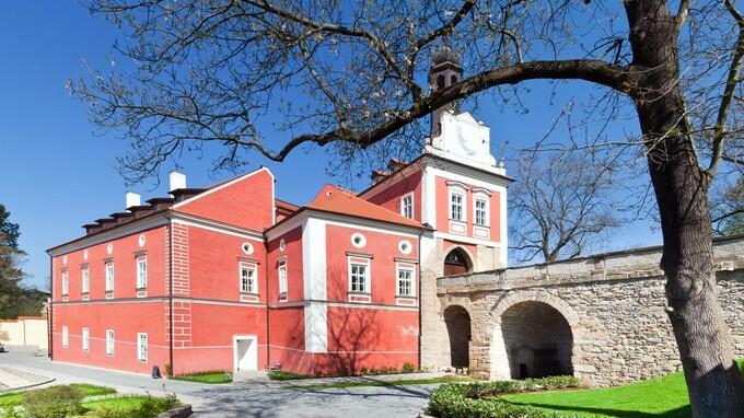 Barokní zámek Savoia Castle