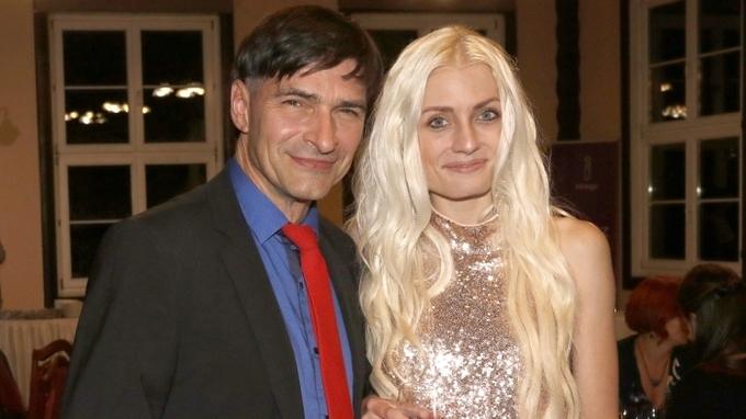 Zdeněk Podhůrský s partnerkou Veronikou