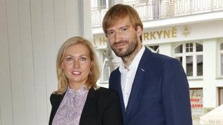 Manželé Olga a Adam Vojtěchovi v Karlových Varech