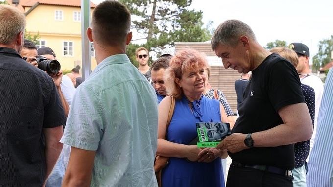 Andrej Babiš na setkání s občany