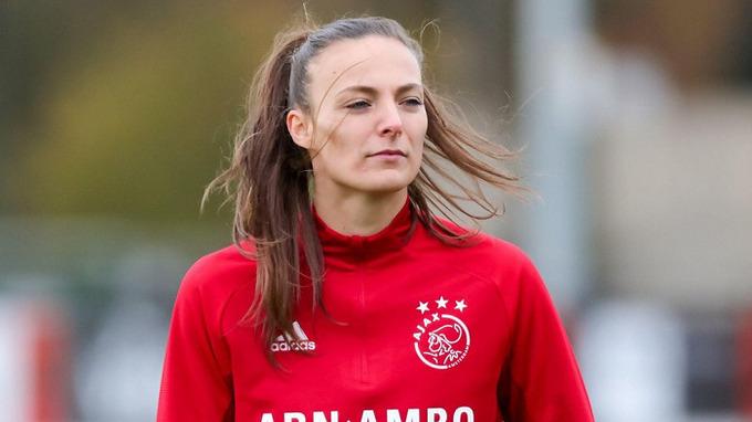 Fotbalová hráčka Lucie Voňková