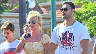Zpěvačka Britney Spearsová s přítelem