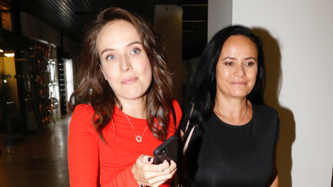 Herečka Tereza Ramba s maminkou
