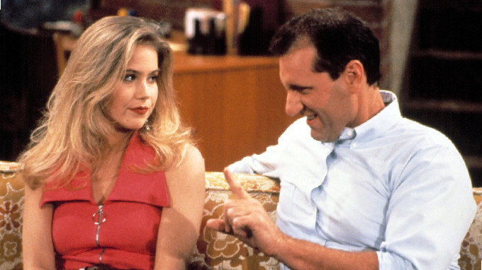 Herečka Christina Applegate ve slavném seriálu