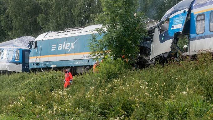 Železniční neštěstí u Domažlic