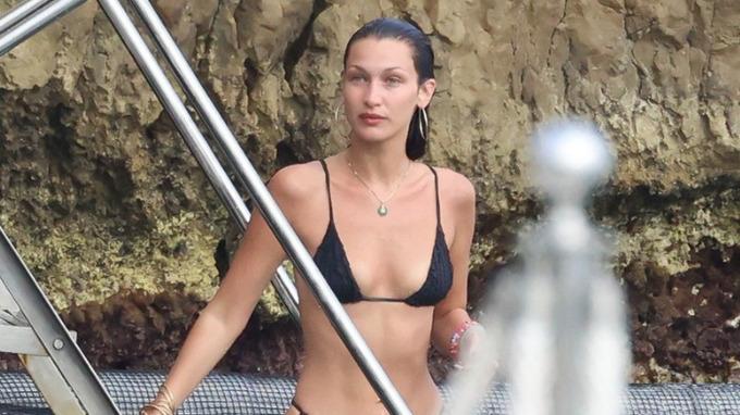Modelka Bella Hadidová