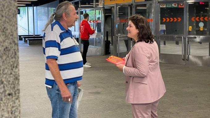 Ministryně Jana Maláčová při setkání s občany
