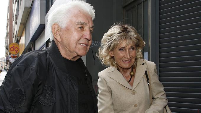 Herec Jiří Krampol a Zuzana Bubílková