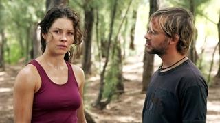 Herečka Evangeline Lillyová v seriálu Ztraceni