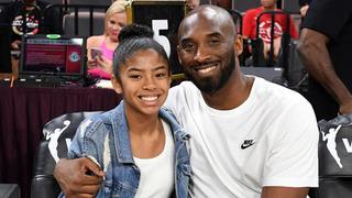 Kobe Bryant s dcerou Giannou