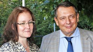 Jiří Paroubek se svou partnerkou