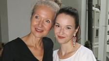 Irena Obermannová s dcerou Berenikou Kohoutovou