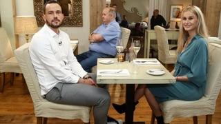 Simone a Patrik při první večeři