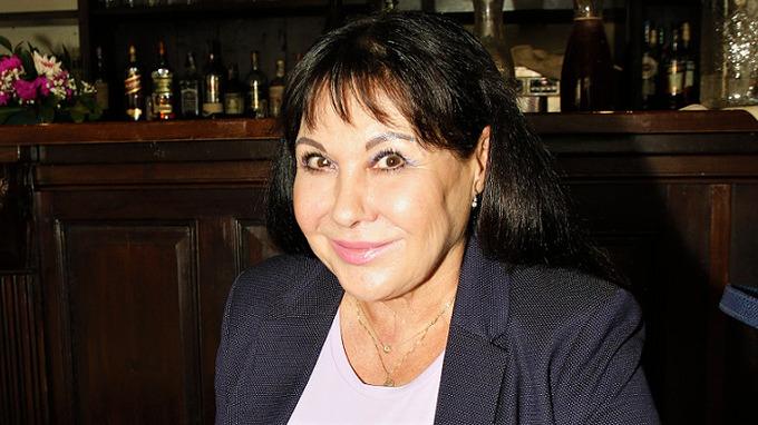 Herečka a zpěvačka Dagmar Patrasová