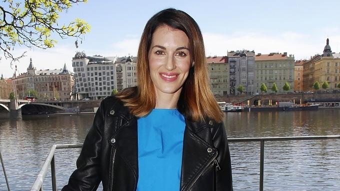 Modelka a moderátorka Lucie Křížková